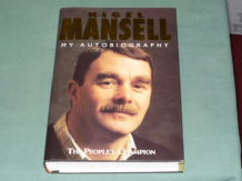 NIGEL MANSELL MY AUTOBIOGRAPHY (signed)